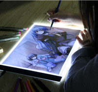 YIKEXIN Ultrathin 3 5mm A4 LED Light Tablet Pad Apply To EU UK AU US USB