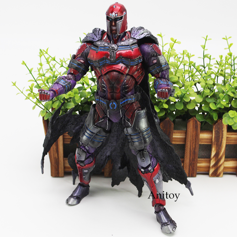 Marvel Universe Figure MAGNETO Action Figure VARIANT PLAY ARTS KAI Toy 25cm square enix play arts kai spiderman venom marvel universe variant action figure collection toy 26cm mvfg347