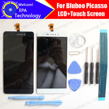 Bluboo Picasso LCD Display+Touch Screen Digitizer 100% Original Tested LCD Screen Glass Panel  For Picasso+tools+ Adhesive
