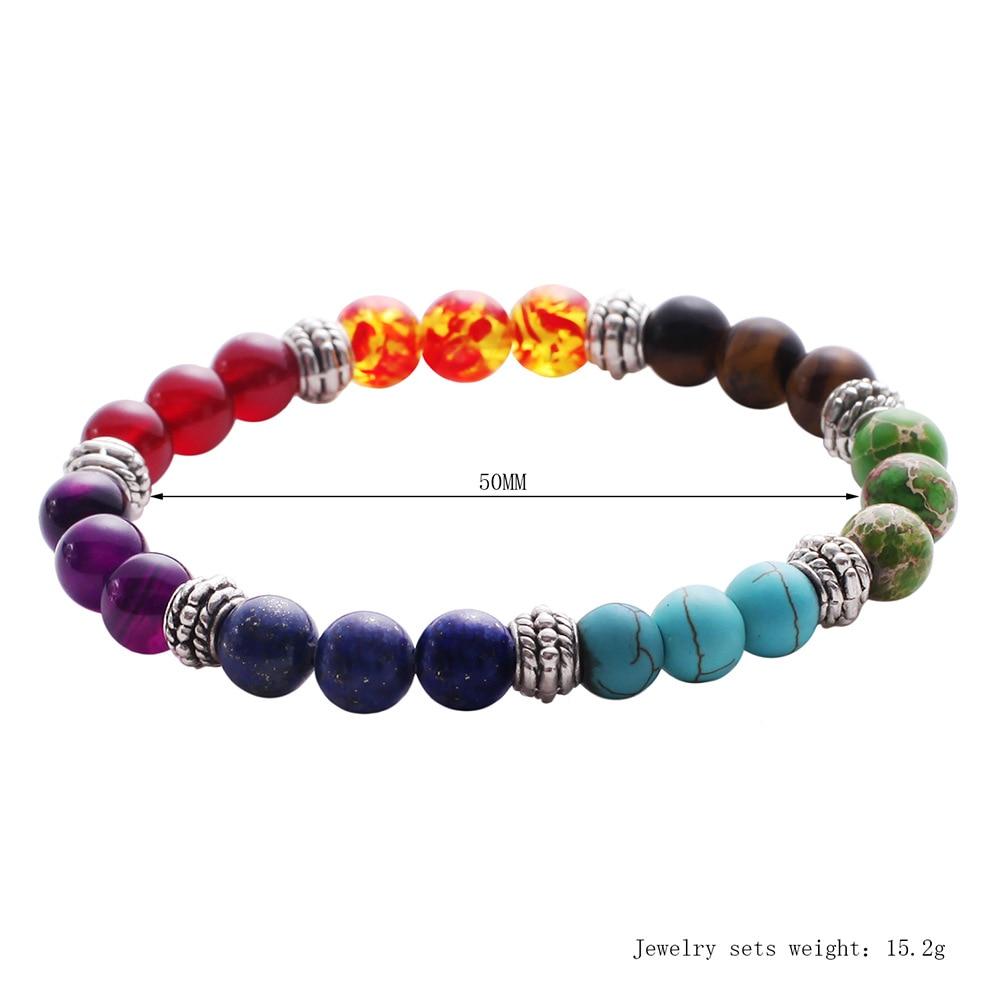 Mixed Gemstone Chakra Bracelet 2