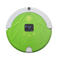 Vacuum Robot Cleaner Wifi Remote Control 1000Pa Timing Dry Wet Cloth 370ml 180ml Suction Sweep Auto