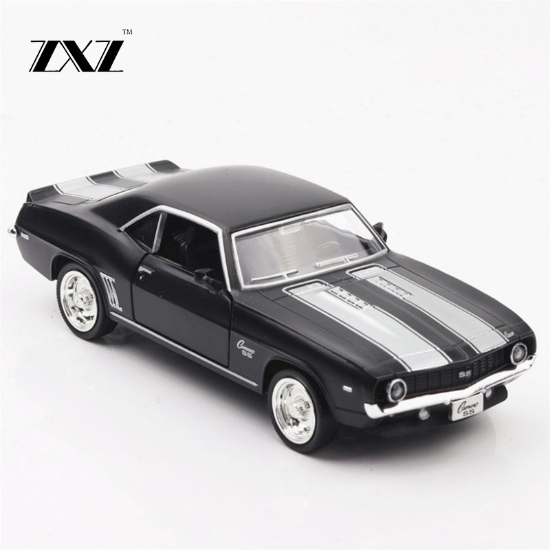 1:36 American muscle car Toy Car Chevrolet Camaro Metal Toy Diecasts & Toy Vehicles Car Model Car Toys For Children image