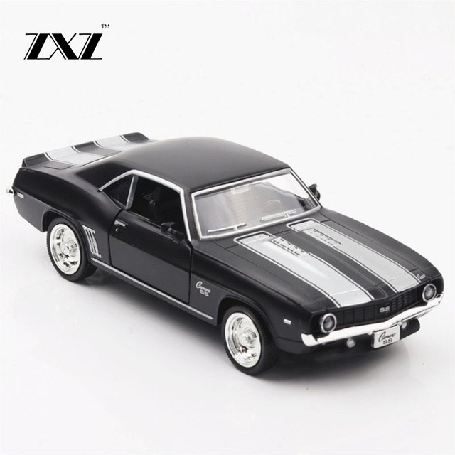 1:36 american muscle car toy car chevrolet camaro metal toy diecasts