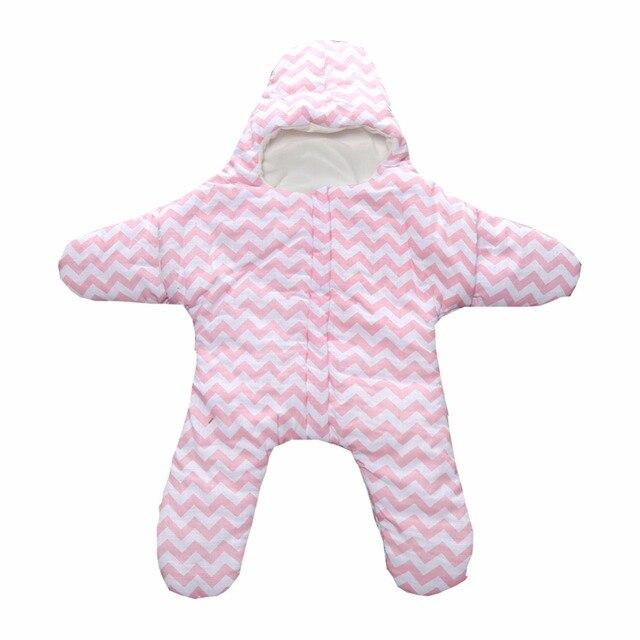 New Sleeping Bag Infant Baby Girls Boys Cotton Star Pattern Sleeping Bag Newborn Baby Outside Sleeping Bags