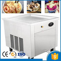 CE approved 60*60cm big pan 220v 110v fast freezer fried ice cream machine roll maker shipping by sea Ice Cream Makers Home Appliances -