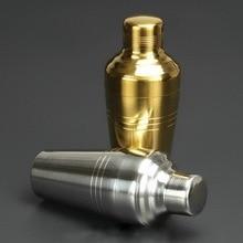 410 ml Überzogene Japanischen design silber gold shaker set glaskolben personalisierte edelstahl cocktail shaker