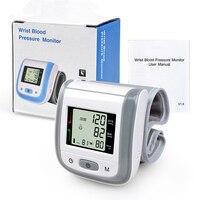 Household Automatic Digital LCD Blood Pressure Monitor automatic electronic sphygmomanometer Tensiometro wrist sphygmomanometer