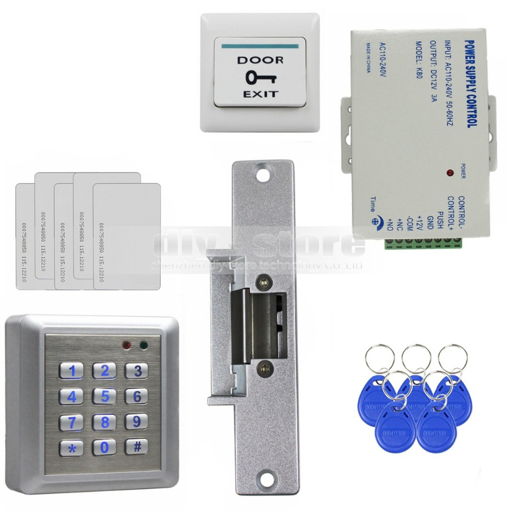 Diysecur Waterproof Rfid Reader Access Control Full Kit
