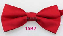 YIBEI Coachella Ties Fashion Man Microfiber Red Bowtie Adults Solid Color  Butterfly Adjustable Unisex Tuxedo Bow Ties Pre-Tied 6c6a629afc76