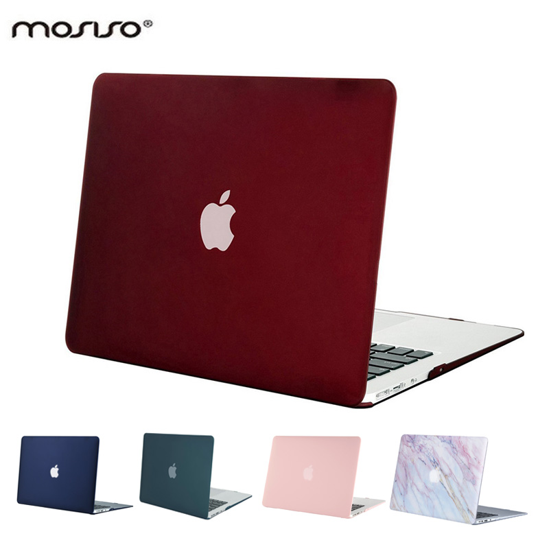 Mosiso Clear Crystal Mac Air 13 Plastic Case Laptop computer Shell Onerous Cowl For Macbook Air 13.3Inch 2017 2016/mac Air 13 2018 Contact Id