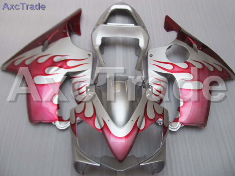 Red Moto Fairing Kit For Honda CBR600RR CBR600 CBR 600 F4i 2001-2003 01 02 03 Fairings Custom Made Motorcycle Injection Molding gray moto fairing kit for honda cbr600rr cbr600 cbr 600 f4i 2001 2003 01 02 03 fairings custom made motorcycle injection molding
