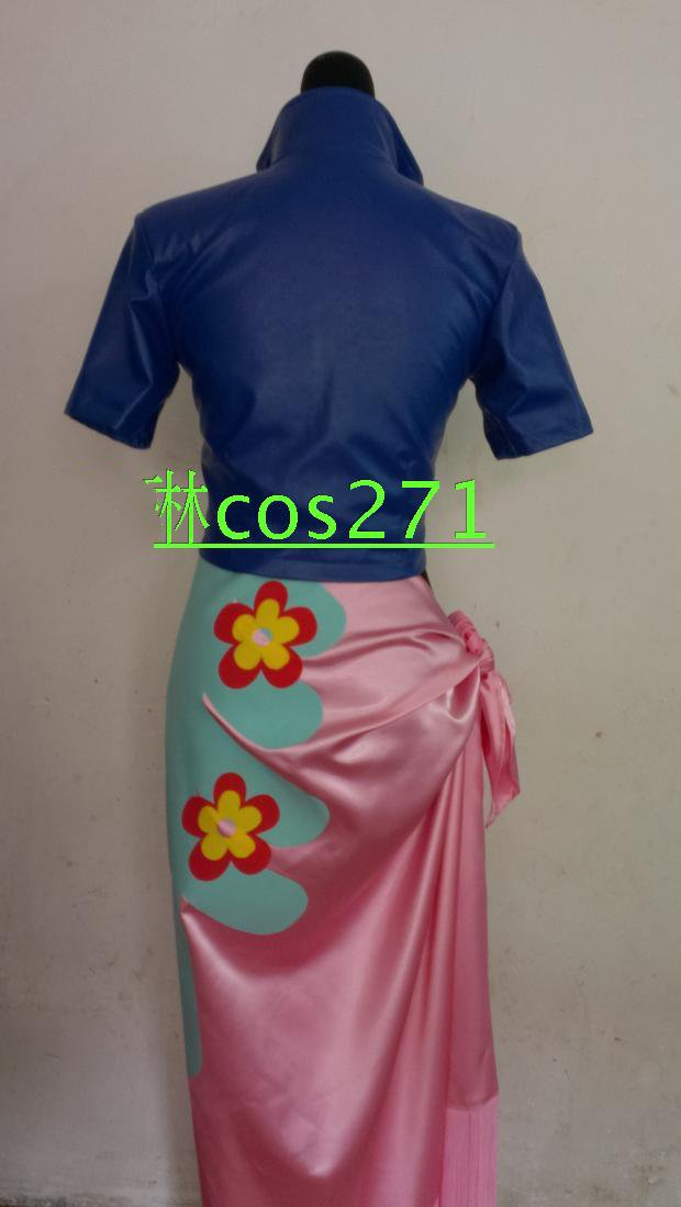 One Piece Nico Robin Two Years Later Uniform Suit Cosplay Costume Custom Made
