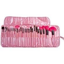 Hot Professional 24 pcs Makeup Brush Set tools Make-up Toiletry Kit Wool Brand Make Up Brush Set Case Cosmetic brush