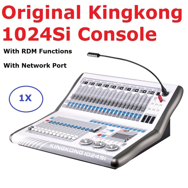 Dj Equipments Kingkong 1024SI DMX Controller Moving Head Lighting Console DMX Computer Stage Lights Controller With RDM Function
