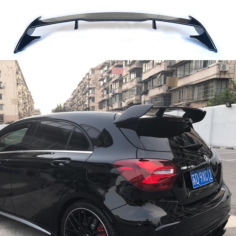 Per Mercedes Benz Classe a W176 A160 A180 A200 A250 A45 Amg 5-Porte Hatchback 2013-2018 Abs tronco Ala Spoiler Posteriore in Plastica di Copertura