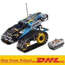 Teknik Seri 20096 Remote Control Pembalap Model Blok Bangunan Set Kompatibel dengan 42095 TECHNIC Mainan RC(China)