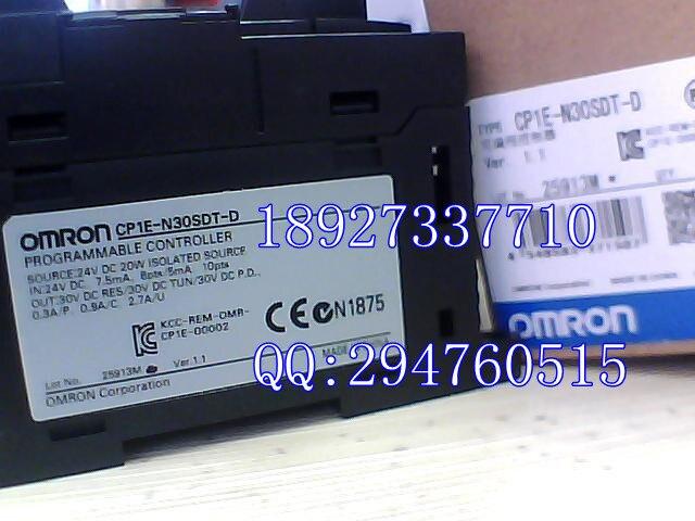 все цены на  [ZOB] 100% new original Omron programmable logic controller CP1E-N30SDT-D  онлайн