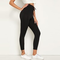 https://ae01.alicdn.com/kf/HTB1wj3qeSSD3KVjSZFKq6z10VXaM/2019-Spring-Summer-New-Women-Fashion-Solid-Color-Drawstring-Elastic-Soft-Leisure-Comfortable-Puls-size-Sport.jpg_200x200.jpg
