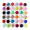 36  colours  Nail gel  uv gel  nail art tool  UV Gel Nail Tips Pure Fine Shiny Cover French Manicure Set hot selling
