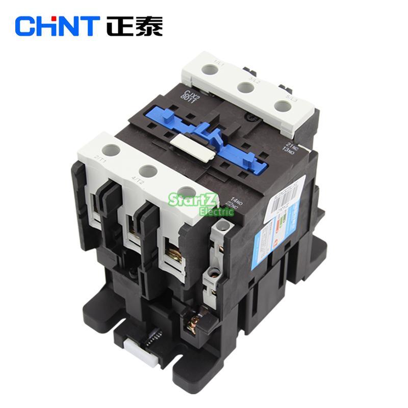 CHNT CJX2 8011 AC Contactor Voltage 380V 220V 110V 36V 24V LC1D80 ls 24v mec 110v 220v 380v gmc 300