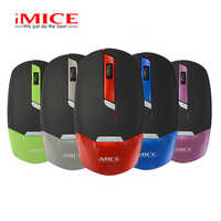 IMice Ultra-dünne Drahtlose Maus Computer Mini Maus 2,4G Empfänger Maus Ergonomisches Design Laptop Desktop Power Saving