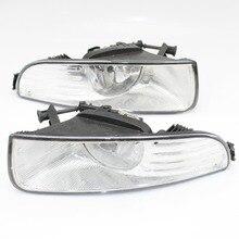 Автомобильный свет для Skoda Superb MK2 2008 2009 2010 2013 2012 2011 автомобиль-Стайлинг Передняя галогенная противотуманная фара с лампочками