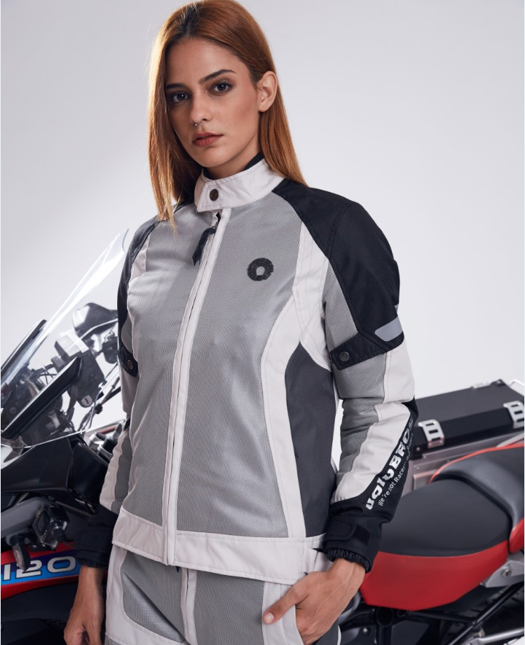 uglybros  women's four seasons riding suits motorcycle protection jacket cruiser long-distance pull clothes waterproof