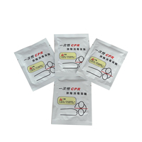 500 Pcs/Lot Rescue Disposable Mouth To Mouth Cpr Breathing Mask Cpr Face Shield One Way Valve For Cpr / AED Training
