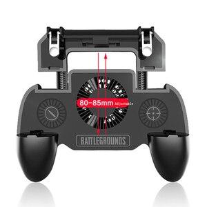 Image 3 - Contrôleur de jeu Mobile multifonctionnel 3 en 1 batterie externe/support de téléphone/radiateur de téléphone portable, Rechargeable, tampon de refroidissement,