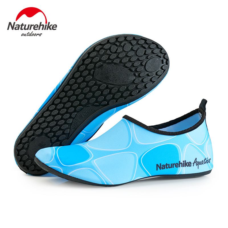Naturehike Breathable Comfortable Snorkeling Socks shoes Quick Dry wading upstream swimming shoes Water Sports Beach socks swimming fins snorkeling diving socks scratch prevent warming quick dry non slip seaside beach shoes new style