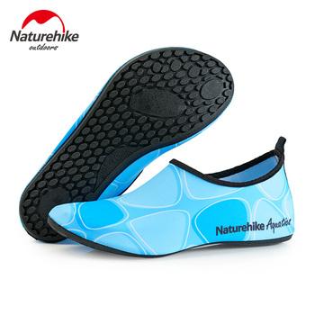 Naturehike oddychające wygodne skarpetki do snorkelingu buty szybkie suche brodzenie upstream buty do pływania sporty wodne plaża skarpetki tanie i dobre opinie Skarpety pantofle Camping i piesze wycieczki