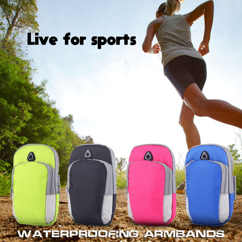 New sport armbands mobile phone belt running hand case for iphone 7 plus arm band universal arm holder for samsung s8 smartphone