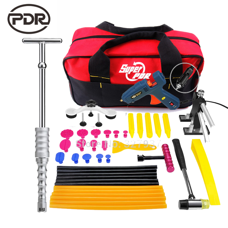 PDR Tools Paintless Dent Repair Dent Removal Tools Auto Removal Tool Dent Puller Slide Hammer Tap Down Tools Kit Ferramentas