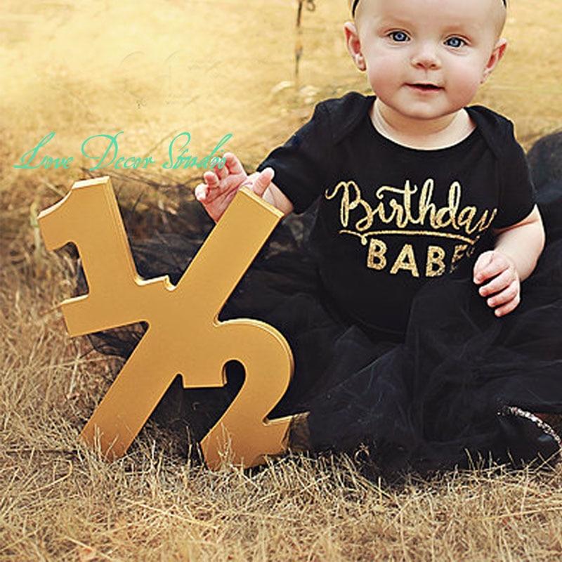 Half Sign Baby Photo Prop Half Birthday Half Sign 1 2