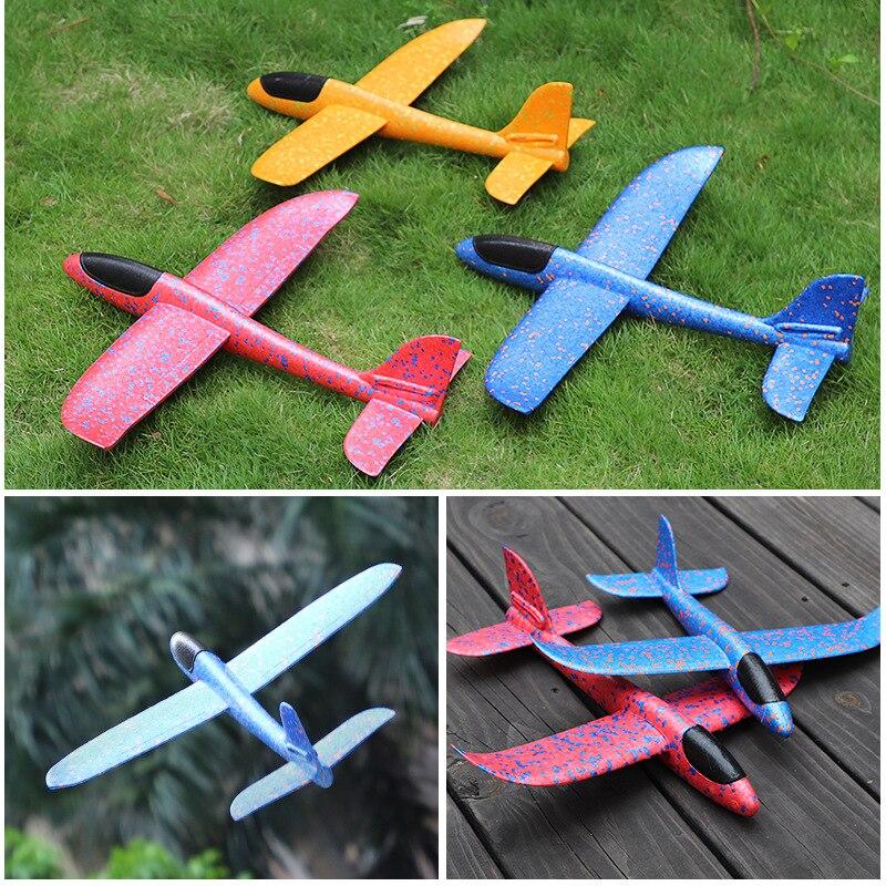 EPP avion vol planeur avion jouets pour enfants bricolage à la main mousse remplissage avions 48cm avion bébé garçons filles cadeau d'anniversaire