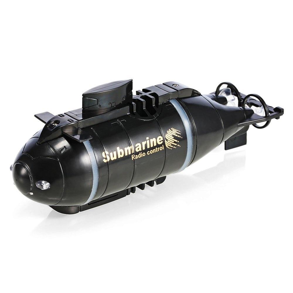 Aktualisiert Version Happycow 777-216 Mini RC Submarine Schnellboot Fernbedienung Drone Pigboat Simulation Modell Geschenk Spielzeug Kinder