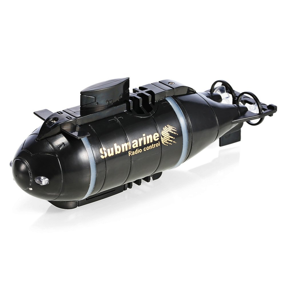 Updated Version Happycow 777-216 Mini RC Submarine Speed Boat Remote Control Drone Pigboat Simulation Model Gift Toy Kids
