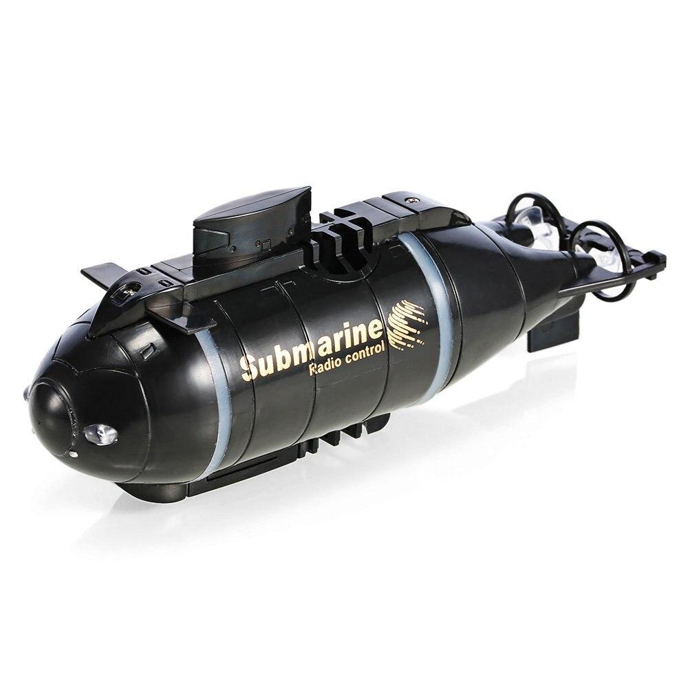Versión actualizada Happycow 216-777 Mini RC submarino velocidad barco Control remoto Drone Pigboat simulación modelo regalo juguete niños