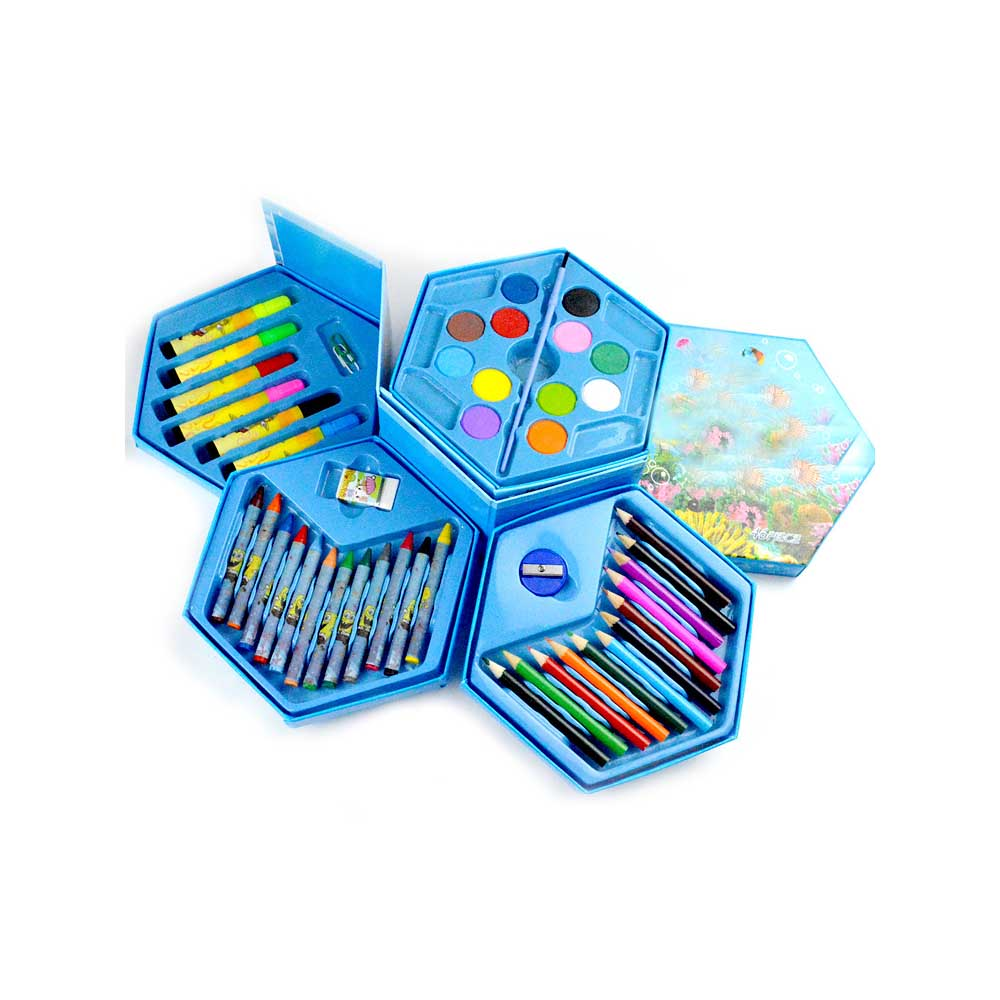 Hot 46Pcs Colors Painting Graffiti Paint Brush Set Art Toy Sets Drawing Painting Pencil Stationery
