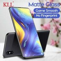 Keine Fingerprint Frosted Matte Gehärtetem Glas für Xiaomi Mi Mix 3 2s 9 SE Explorer A1 F1 Screen Protector für Redmi Hinweis 4X S2 Gehen