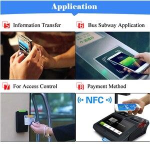 Image 4 - 6 шт./лот NFC этикетки, наклейки NFC 213, этикетка, rfid метка, карта, клейкие брелки, llaveros, llavero Token Patrol