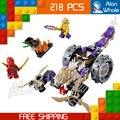 2016 10318 bela ninja trituradora de la serie ninja juegos de bloques de construcción de juguetes educativos para niños compatibles con lego jouet llama