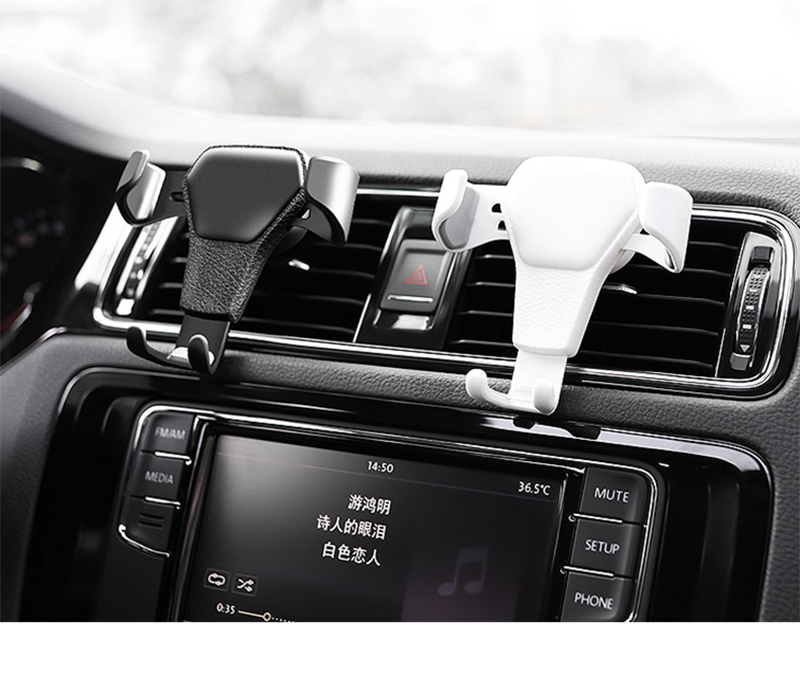 HTB1wj79dKUXBuNjt XBq6xeDXXaZ - Car Phone Holder For Phone In Car Air Vent Mount Stand No Magnetic Mobile Phone Holder Universal Gravity Smartphone Cell Support