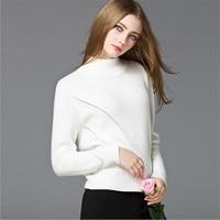 Loose Big Chest Women Sweater Autumn Winter Sweaters Women High Elastic Slim Warm Sweater Women Elegant