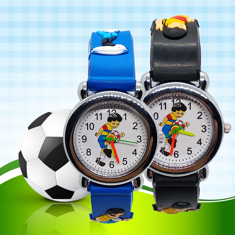 2019 Children Sports Football Watch Fashion Kids Watches For Kid Girls Boys Gift Small Students Clock Child Watch Reloj Infantil