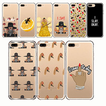 Beyonce Lemonade Hold Up Formation I SLAY soft silison phone Cases Cover for IPhone 11 5S SE 7 8 6 6S Plus XS MAX XR pro