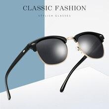 MIZHO Classic Polarized Sunglasses Men Retro Brand Designer