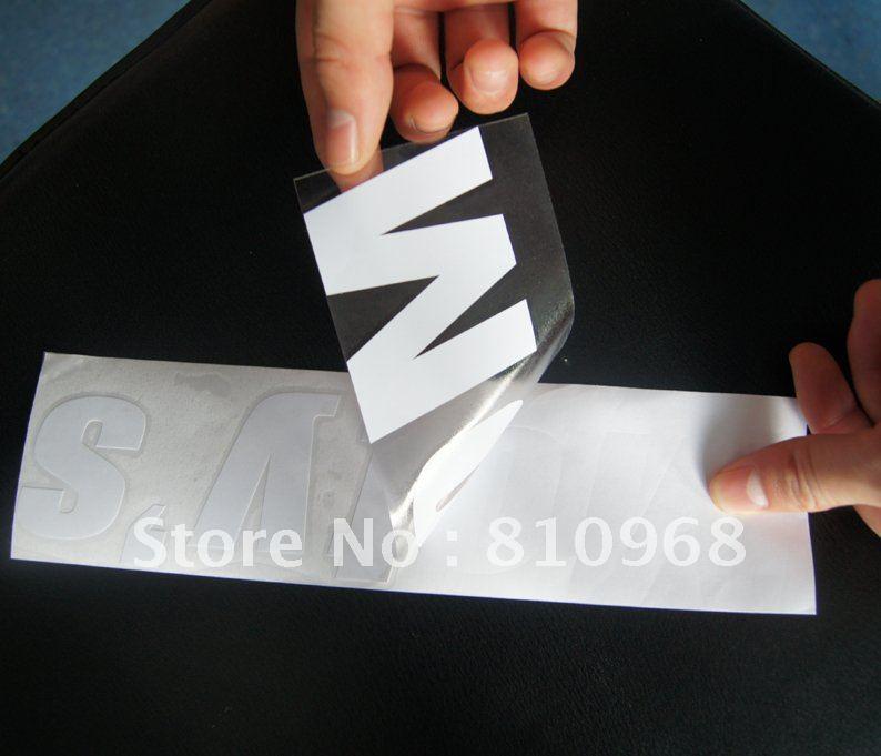 cut vinyl letters