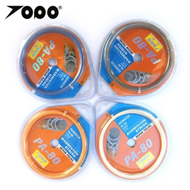 Freies verschiffen (10 teile/los) max spannung 33lbs PA80 Badminton String/Badminton Schläger/Badminton Schläger (10M)