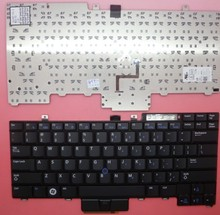 laotop keyboard for DELL E6400 M2400 E6410 US layout NSK-DB301/0W with TrackPoint backlight